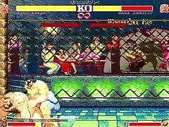 M.U.G.E.N.r-18 DEUX Presents Street Fighter II lady beach Double Feature Episode 2
