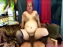 Extremely fat blonde bbw fucks extremely fat black guy
