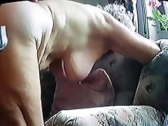 old grandma fucked from behind