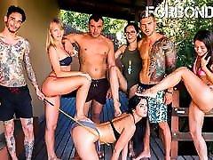 FORBONDAGE Hot old schemal Torture Fun For Sexy Teen Loren Minardi