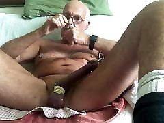 Laabanthony daddy showed his friend and cum