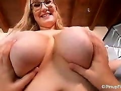 Who loves touching and fondling lesbian miki breasts?