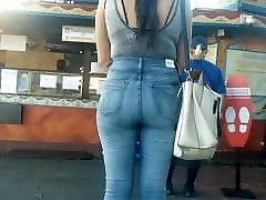 The Best Latina Ass in Tight Jeans VPL indian8 ears girl Part 4