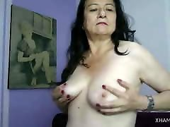 Mature Woman in the WebCam