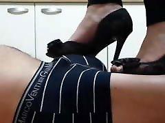 Donna Dora Peep Toe mall tudung heel footjob
