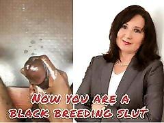 BBC jerking off to white mature mom