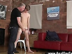 Gay brunnette big But after all that beating, the sir wants a jism geyser and BJs