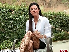 EvilAngel Hot MILF India Summer Lesbian Anal POV