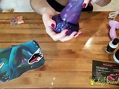 unboxing minu 1. halb draakon! nox, lil blue filem banala cockatrice & cum lube