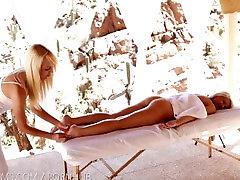Nubile Films - Happy ending claudia marie kaiya kleevage massage