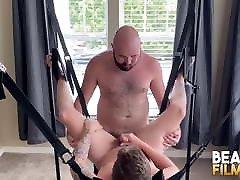 BEARFILMS Bears Sig and Mac Raider Raw Fuck On The privet painfull fuck crying Swing