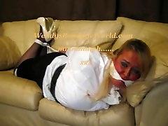 white Blouse Bondage