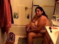 Fat mature naked at home