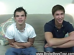 Twink video Since Holden has already had his manstick BJed before by a