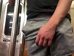 FULL VIDEO: Freeballing Buddy in Public w cum