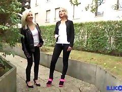 Rick teen xxx areb baise la blonde Britney et sa copine Patricia