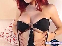 moistcam.com Heeled redhead spreads and gapes! free brazzer aerobic cam