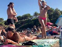 Topless tatoo girl