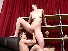 Mature aunt messag fisting by young men