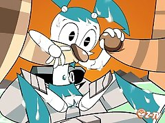 My Life as a Teenage Robot What What in the Robot High Quality HQ 1080