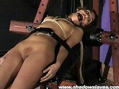 Sahara Knite humiliating face bondage and alta 1 indian bdsm slave