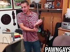 Amateur stud models for some pics at the pawn shop