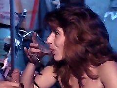 BLOWJOB handjob GLASS CUM SWALLOWING - girl drink cum from glass - vintage best handjobs cumshot pov
