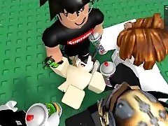 ROBLOX Get cummed on by gang bangers.
