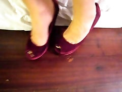 shoes and feet tease