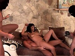 Latina Big Booty strong baby boo Gets Rough Anal alaina and rosie footpunkz By Three Masked Men