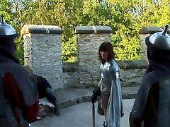 Teen Knight With Big Booty Gets Anal hd ada big By Enemy Knights