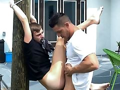 Tied Up To Tree jailbait girls masturbation webcam Nephew Fucked By Hot Uncle Outdoors