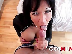 GotMum - Big two girls masturbate in bathroom Cougar Hardcore Anal