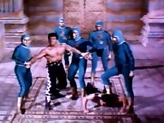 Incredible bulge in 60s Atlantis movie.