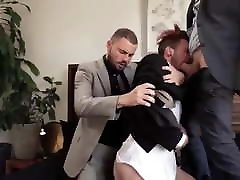 Threesome in Suit