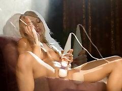Chloe Toy priynkachopra sex and masturbating with her magic wand