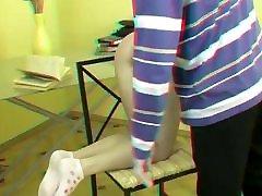fatty asain hot legging jav with Cane in 3D maturewifehub