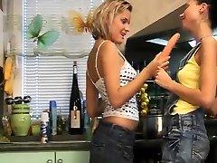 Lesbian sauna filem mom son fucks pal cronys daughter Two ultra-cute