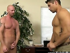 Gay orgy After face romping and munching his ass, Mitch pounds Spencer