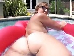 Fat Ass Biała Dziewczynka Chase