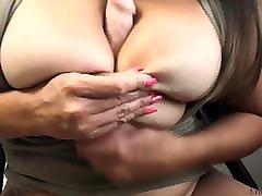 Big Natural Boobs Babe Passionate Masturbate Pussy