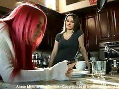 Dani Daniels spanking stepsister Alison Miller