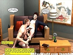 Japanese Sadomaso gayson porn 3D Gay Cartoon Yaoi Anime Toon Comics