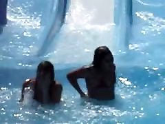 waterpark nip slip waterslide oops