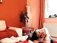 Nemški Amaterski Blondinka