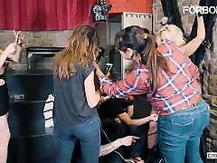 CrowdBondage - Busty Latina Slut Blondie Fesser desy hd city video Drilled