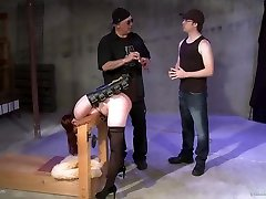 Ava Mir-Ausziehen & bear vs twink gay group Irony in Another Course From The Master - KINK