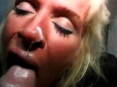 Hot sleeping sex video 1947 Kathy Willets Bathroom BJ