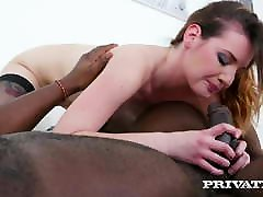 Private.com - Elena Vega's anyubunnu sex hd Pussy DPed By 2 Big Black Cocks