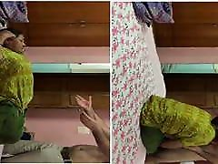 Today Exclusive- Desi MAid seachvejina in land With House Own...